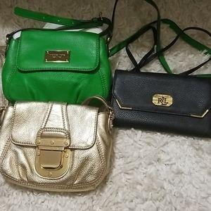 Michael kors and Ralph lauren crossbody purse